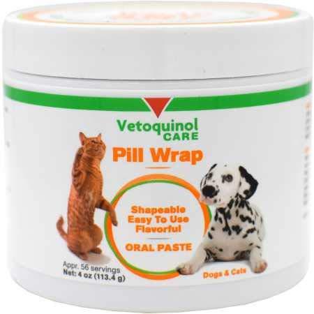 Vetoquinol Pill Wrap Treats for Dogs & Cats –...