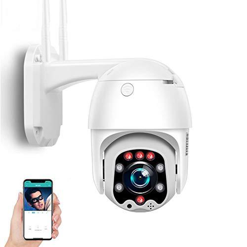 Telecamera di sorveglianza per esterni 1080P 3G 4G Sim PTZ telecamera IP, audio a 2 canali, impermeabile IP66, visione notturna a colori, adatta per garage, porta,1080P4GVersion