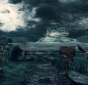 UIUY Arte de fantasía de Castillo de Halloween, 1000 Piezas,para Adultos,Máxima Calidad de impresión,Juguetes clásicos…