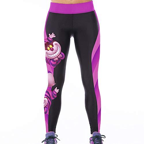 Sasairy Donna Sport Pantaloni Full Length Leggings Non Pantaloni Collant Elastico Ci Si Vede Attraverso Fitness Workout Yoga in Esecuzione Hipster Usura Esterna Palestra