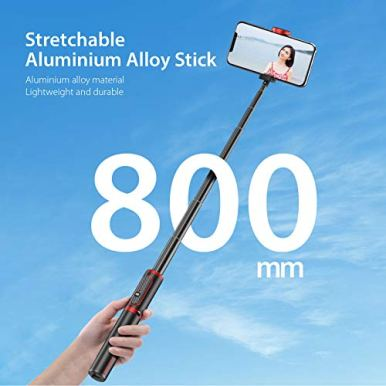 Andoer-Selfie-Stick-Tripod-80CM-Bluetooth-Extendable-3-in-1-Aluminum-Selfie-Stick-with-Detachable-Wireless-Remote-and-Tripod-Stand-Compatible-with-iPhone-Samsung-and-Android-Smartphone
