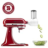 KitchenAid KSMVSA Fresh Prep Slicer/Shredder Attachment, White