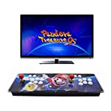 HAAMIIQII Pandora Treasure 9s Arcade Game Console - 3100 Retro Games Pre-Loaded, Search/Save/Hide/Delete Games, 1280x720P, 4 Players Online Game, 2 Player Game Controls