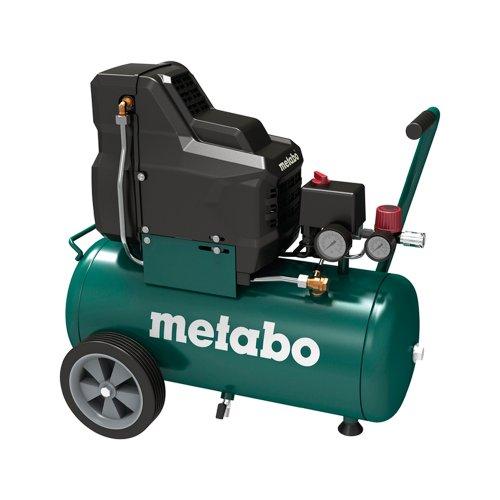 Metabo Kompressor Basic 250-24 W OF  1,5kW, 8 bar, 24l, für Einphasen-Wechselstrom