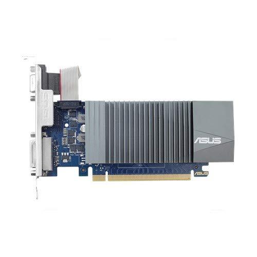 ASUS GeForceGT 710 1 GB DDR5, Scheda Video Low Profile per HTPC Compatti e Build Low Profile Passive, Incluso Bracket Aggiuntivo I/O
