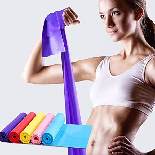 kemanner Fasce Elastiche di Resistenza per Yoga per Esercizi Sportivi Elastici con Cinturino...