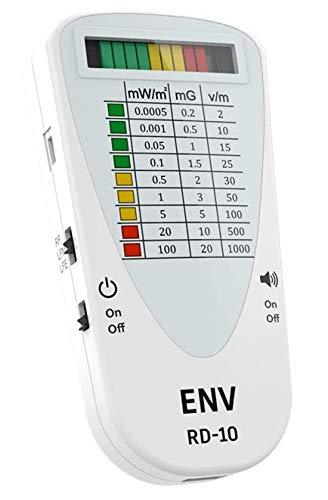 ENV RD-10 3-Mode Compact EMF Meter - RF/LFM/E-Field