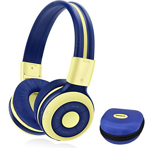 SIMOLIO Wireless Bluetooth Headphones with Microphone,...