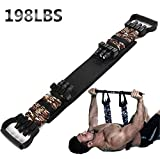 Sunsign Adjustable Bench Press Assistance Resistance Bands Removable Chest Expander with Resistance Bands 198lb