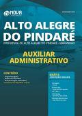 Apostila Alto Alegre do Pindaré Auxiliar Administrativo