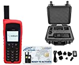 SatPhoneStore Iridium 9555 Satellite Phone Deluxe Package with Pelican Case, Silicone Protective Case and Blank Prepaid SIM Card Ready for Easy Online Activation