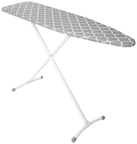 HOMZ Steel Ironing Board Contour Grey & White...