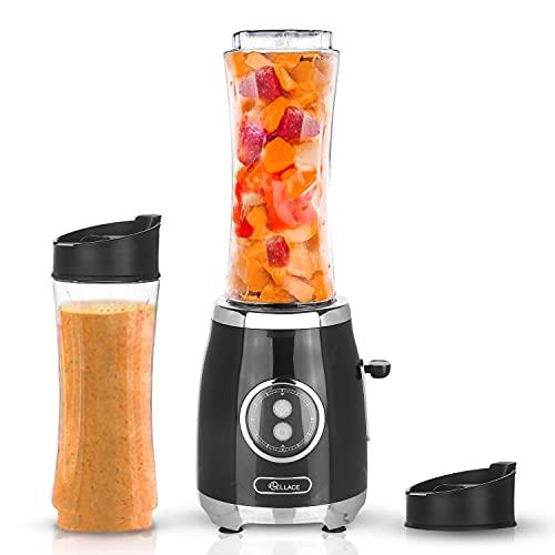 LELLACE Mixeur portable. Blender Smoothie pour Milkshakes et Juice Shakes,...