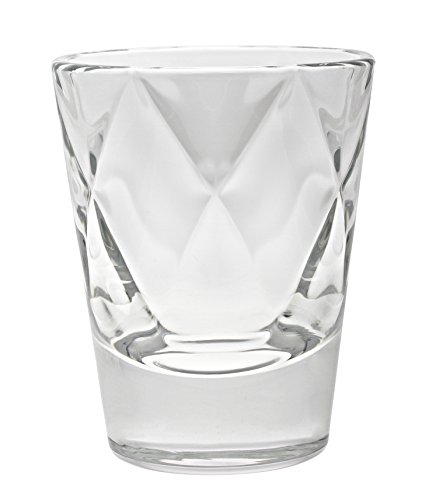 Vidivi Vetri delle Venezie Concerto 67250 Concerto Set di 6 Bicchieri da Liquore in Vetro da 8 cl, Trasparente