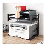 De malla de almacenamiento Impresora de escritorio Soporte de acero inoxidable...