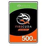 Seagate FireCuda, 500 Go, Disque hybride hautes performances SSHD, 2,5' SATA 6...