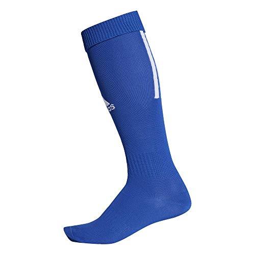 adidas Santos Sock 18 Calzini, Unisex Adulto, Bold Blue/White, 3739
