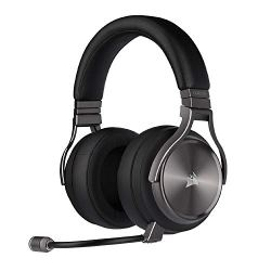 Corsair Virtuoso RGB Wireless SE Gaming Headset - High-Fidelity 7.1 Surround Sound W/ Broadcast Quality Microphone - Memory Foam Earcups - 20 Hour Battery Life – Carbon, Special Edition