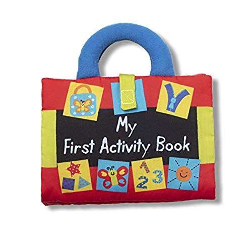 Melissa & Doug K's Kids My First Activity Book 8-Page Soft...