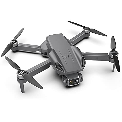 IIIL Drone RC GPS Pieghevole, Fotocamera Grandangolare, 5G 4 Canali 6 Assi 4K FPV, Doppia Fotocamera, Trasmissione Tempo Reale, Tempo Volo 25 Minuti, Giocattolo Quadricottero RC Senza Spazzole