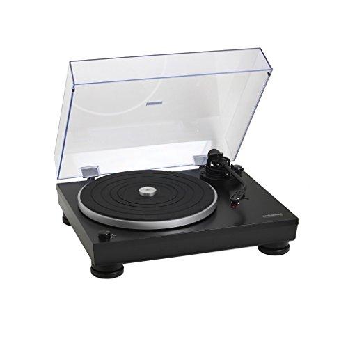 audio technica AT-LP5 Giradischi Manuale, Nero Opaco