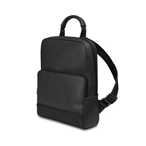 Moleskine Classic Mini Backpack, Zaino Mini per Uomo e Donna, Mini Zainetto Porta Pc Piccolo, Dimensioni 34 x 25 x 11 cm, Nero