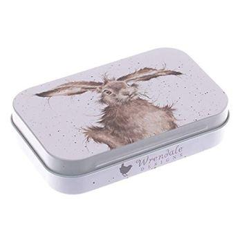 Wrendale Designs Keepsake Gift Tin 9.5 x 6 Centimeter In Various Designs (Hare Brained)