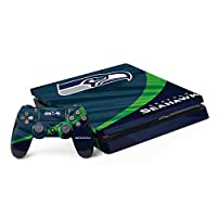 Ultra-Thin, Lightweight PS4 Slim Bundle Vinyl Decal Protection Officially Licensed NFL Design Industry Leading Vivid Color Vinyl Print Technology on your Seattle Seahawks skin Scratch - Resistant. Built To Last Everday PS4 Slim Bundle Use 3M Adhesive...