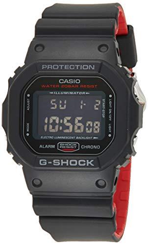 Casio G-SHOCK Orologio 20 BAR, Nero, Digitale, Uomo, DW-5600HR-1ER