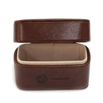 Linsoul TIN HiFi Portable PU Leather Storage Case for Tin Audio T2 T3 T2 PRO Earphones
