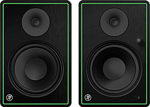 Mackie CR-X Series, 8-Inch Multimedia Monitors with Professional Studio-Quality Sound, Bluetooth and Front Panel Controls - Pair (CR8-XBT)
