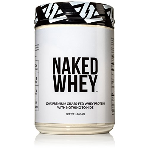 NAKED WHEY 1LB 100% Grass Fed Unflavored Whey Protein Powder - US...