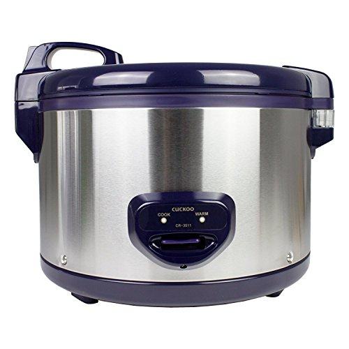 Cuckoo CR-3511 Premium Gastronomie-Reiskocher (6,3l / 1550W / 220V) mit 12 Std Warmhaltefunktion – Reis für bis zu 35 Personen