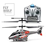 Hélicoptère RC, jouets télécommandés, chaîne miniature 3.5CH...