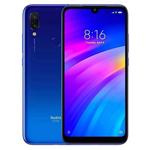 "Xiaomi Redmi 7 15,9 cm (6.26"") 3 GB 32 GB SIM Doble 4G Azul 4000 mAh - Smartphone (15,9 cm (6.26""), 1520 x 720 Pixeles, 3 GB, 32 GB, 12 MP, Azul)"