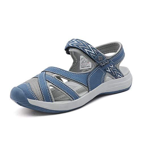 DREAM PAIRS Women's Hiking Sandals Sport Athletic Sandal Dark Blue Size 9 M US 181103L