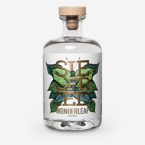 Siegfried Wonderleaf | destilados sin alcohol - los productores de la mundialmente galardonada Siegfried Gin | sin azúcar | 500 ml