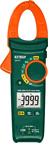Extech MA445 True RMS 400A AC/DC Clamp Meter with...
