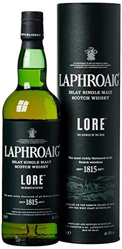 Laphroaig Lore Islay Single Malt Scotch Whisky, mit Geschenkverpackung, reich und tiefgründig mit...
