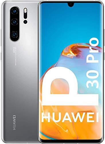 """HUAWEI P30 Pro New Edition 16,4 cm (6.47"""") 8 GB 256 GB SIM Doble 4G USB Tipo C Plata 4200 mAh P30 Pro New Edition, 16,4 cm (6.47""""), 2340 x 1080 Pixeles, 8 GB, 256 GB, 12 MP, Plata"""