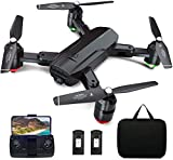 Dragon Touch Drone Plegable GPS con Cámara 1080P HD Avión con WiFi FPV Control Remoto Modo sin...