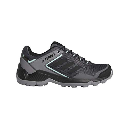 adidas outdoor Women's Terrex EASTRAIL GTX Hiking Boot, Grey Four/Black/Clear Mint, 7.5 M US