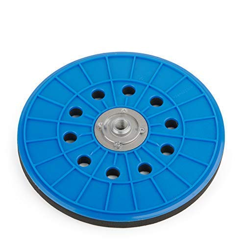 Plato Lijador Von Wabrasive | Ø 225mm | Plato de Apoyo para Velcro-Papel de Lija | Ideal para Matrix Lijadoras de Techo Lijadora de Pared Lijadora de Disco y Lijadora en Seco