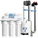APEC Water Systems TO-SOLUTION-10 Whole House Water Filter, Salt Free Water Softener & Reverse Osmosis Drinking Water Filtration Systems For 1-3 Bathrooms