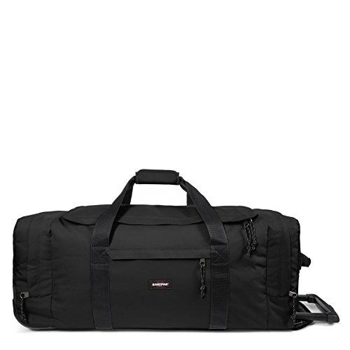 Eastpak Leatherface, Bagaglio con Ruote Unisex, Nero (Black), 98 liters, L (86 centimeters)