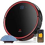 Aspirateur Robot Laveur, Lefant-T700 Connecté Wi-Fi et Alexa Aspiration Forte 2200Pa avec réservoir d'eau 300ml, 3 Modes de Nettoyage 120 Minutes d'Autonomie pour Poils des Animaux