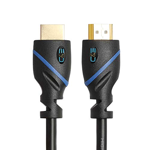 100ft (30.4M) High Speed HDMI Cable Male to Male with Ethernet Black (100 Feet/30.4 Meters) Bui…