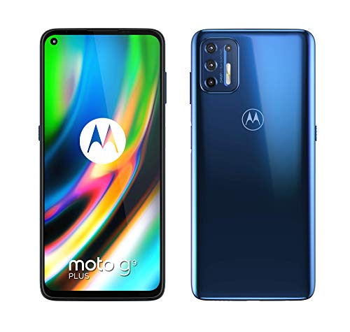 Motorola moto g9 plus (Quad camera 64 MP, batteria 5000 mAH, Display Max Vision FHD+ 6.8
