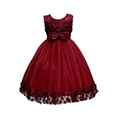 """TIPS ( Must Note ): Label size """"3"""" on dress is for """"1-2T""""; Label size """"4"""" on dress is for """"2-3T""""; Label size """"6"""" on dress is for """"3-4T""""; Label size """"8"""" on dress is for """"4-5T""""; Label size """"10"""" on dress is for """"5-6 Years""""; Label size """"12"""" on dress is f..."""