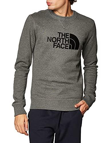 The North Face Felpa GIROC Uomo Grigio NF0A4SVR Grigio S